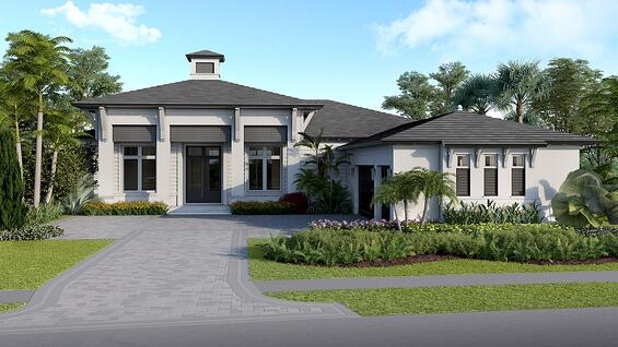 The future Pembrook model home by London Bay Homes at The Founders Club.