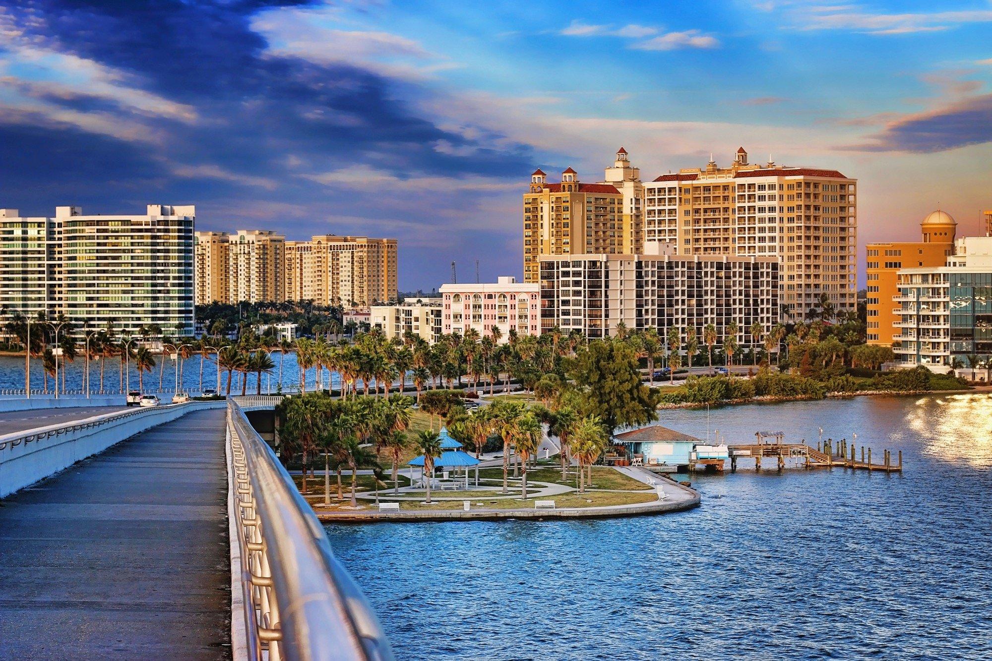 Downtown Sarasota Landscape