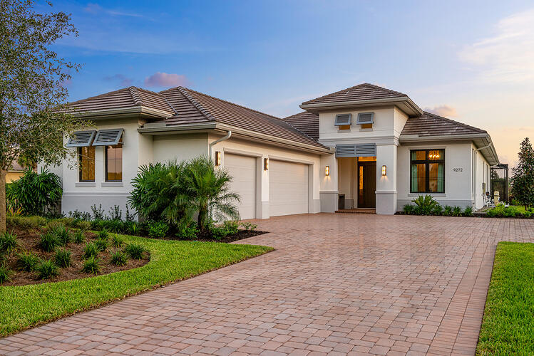 The Davidson model home by London Bay Homes is now available for viewing