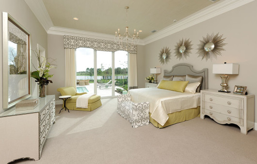 A Place to Rest in Sarasota Florida: The Master Suite of the Delfina