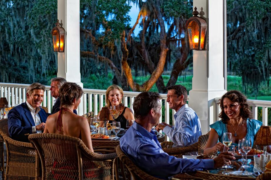 Camaraderie is just one of the many luxury amenities offered at The Founders Club