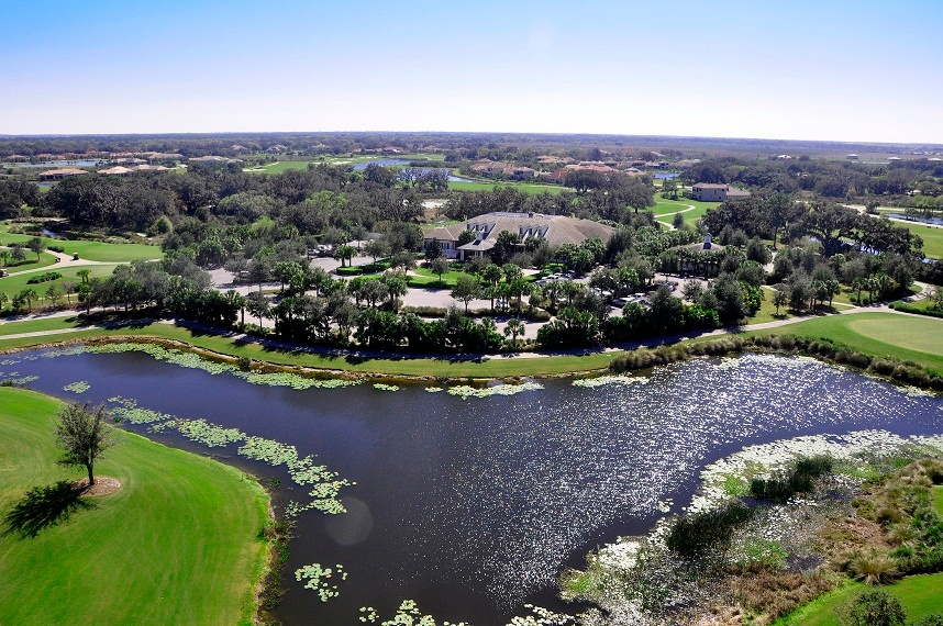 The luxury home community of The Founders Club is the perfect combination of nature and location