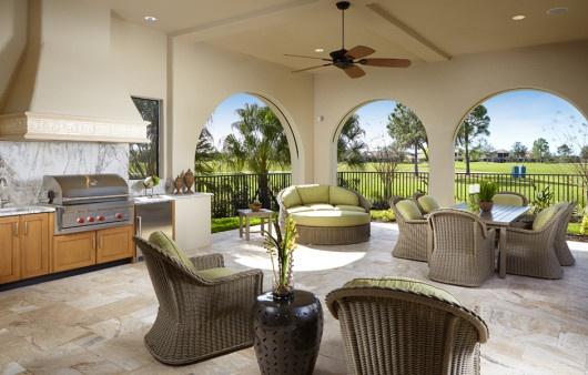 Bring in your lanai furniture to protect your home in The Founders Club