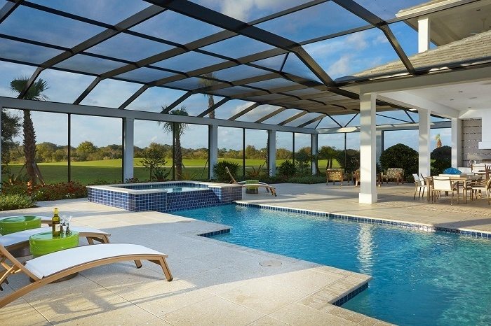 Enjoy outdoor living in the Isabella Two-Story