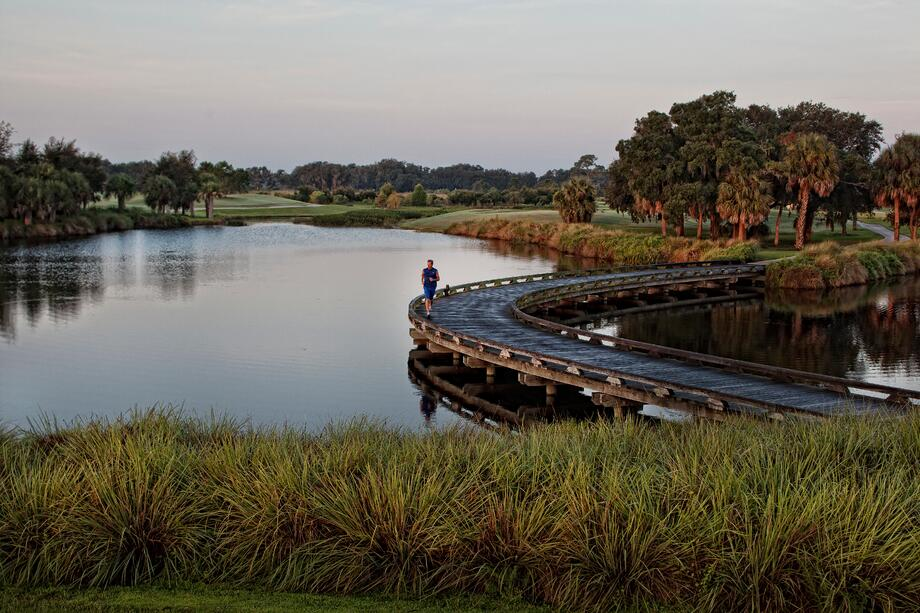 Explore the beautiful natural surroundings of our golf community