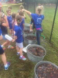 The Founders Club community kids had a blast at the St Martha's Cajun Crawfish Festival