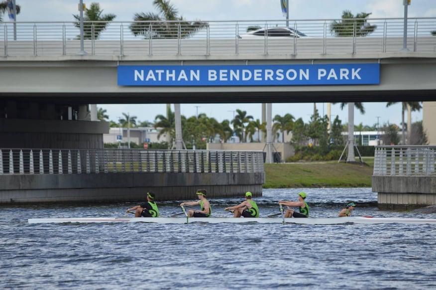 Nathan Benderson Rowing pic