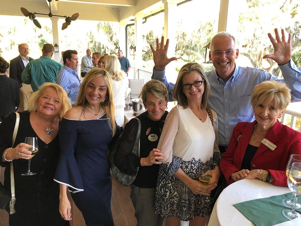 Susan Miller, Lori Cashi-Haught, Paula Cashi, Tami Cashi, John Gleeson, Patricia Emmett 2