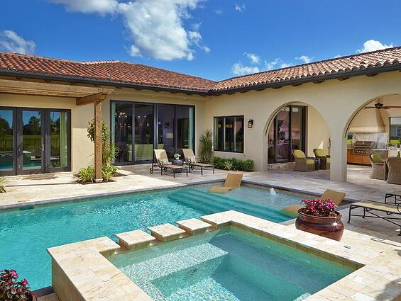 The Girona is only one of the many available luxury homes Sarasota.