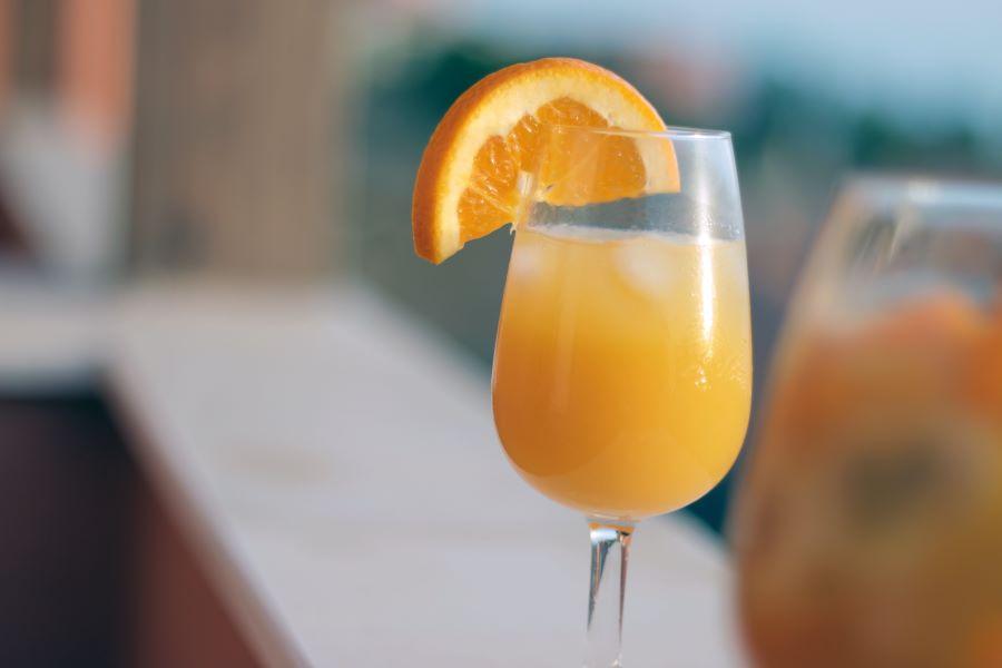 mimosa for brunch in sarasota